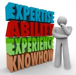 Expertise Ability Experience Knowhow